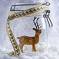 Reindeer Figure by Amanda Elwell