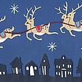 Reindeer by Isobel Barber
