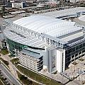 Reliant Stadium In Houston by Bill Cobb