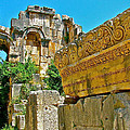 Relief In The Coutyard In Myra-turkey by Ruth Hager