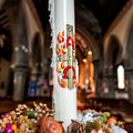 Religious Candle by Adrian Evans
