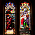 Religious Stained Windows by Les Palenik