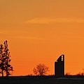 Remains Of A Farm Panorama by Bonfire Photography