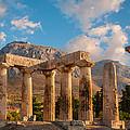 Remains Of Apollo Temple by Gurgen Bakhshetsyan