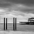 Remains Of The West Pier In Brighton by Semmick Photo