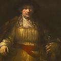 Rembrandt Self Portrait by Mountain Dreams