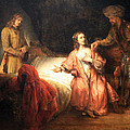 Rembrandt's Joseph Accused By Potiphar's Wife by Cora Wandel