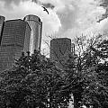 Renaissance Center In Detroit by John McGraw