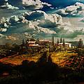 Renaissance Landscape With Power Lines by Aleksander Rotner