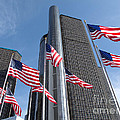 Rencen And Flags by Ann Horn