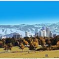 Reno Skyline From Rancho San Rafael by Bobbee Rickard