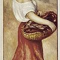 Renoir, Pierre-auguste 1841-1919. Girl by Everett