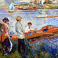 Renoir's Oarsmen At Chatou by Cora Wandel