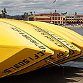 Rental Boats On The Municipal Wharf At Santa Cruz Beach Boardwalk California 5d23795 by Wingsdomain Art and Photography