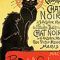 Reopening Of The Chat Noir Cabaret by Theophile Alexandre Steinlen