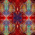 Repeating Realities Abstract Pattern Artwork By Omaste Witkowski by Omaste Witkowski