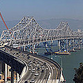 Replacement Of The Easter Span San Francisco Oakland Bay Bridge From Yerba Buena Island Oct 9th 2011 by California Views Archives Mr Pat Hathaway Archives