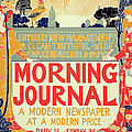 Reproduction Of A Poster Advertising The Morning Journal by Louis John Rhead
