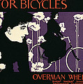 Reproduction Of A Poster Advertising Victor Bicycles by American School