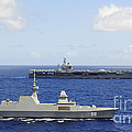 Republic Of Singapore Frigate Rss by Stocktrek Images