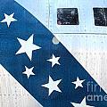 Republic Thunderflash Rf-84k - Stars by Gregory Dyer