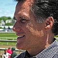 Republican Mitt Romney by Mike Martin