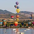 Reservoir Balloons by Steve Krull