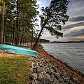 Reservoir Shoreline by David Dufresne