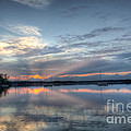 Reservoir Sunset by Michael Ver Sprill