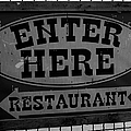 Restaurant Sign  by Cathy Anderson