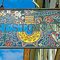 Restaurant Sign In Old Town Tallinn-estonia by Ruth Hager