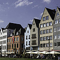 Restaurants And Brewpubs Along The Rhine Cologne by Teresa Mucha
