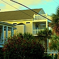 Restful Porch At Isle Of Palms by Kendall Kessler