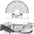 Restoration Of The Greek Theater by Photo Researchers