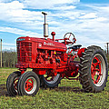 Restored Farmall Tractor by Charles Beeler