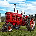 Restored Farmall Tractor Hdr by Charles Beeler