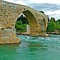Restored Roman Bridge Over Eurynedan River-turkey by Ruth Hager