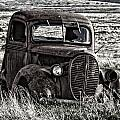 Retired Farm Truck by Wes and Dotty Weber