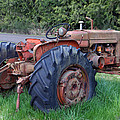 Retired Tractor by Hugh Carino