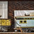 Retired Trains by Heather Applegate