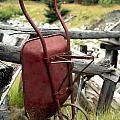Retired Wheelbarrow by Roderick Bley