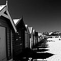 Retro Beach Huts II by David Hancock