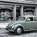 Retro Beetle by Olivier Le Queinec