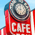Retro Cafe by Art Block Collections