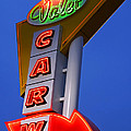 Retro Car Wash Sign by Norman Pogson