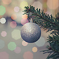 Retro Christmas Tree Decoration by Mr Doomits