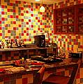 Retro Diner by Karen Wiles