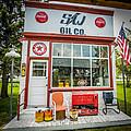 Retro Gas Station by Paul Freidlund