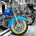Retro Harleys by Chris Smith