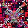 Retro Trumpets by David G Paul
